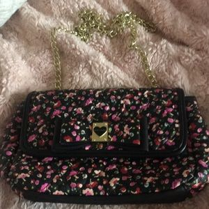 Floral Betsey Johnson purse
